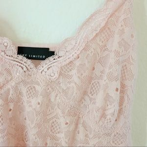 The Limited Strawberry Lace Top 🍓